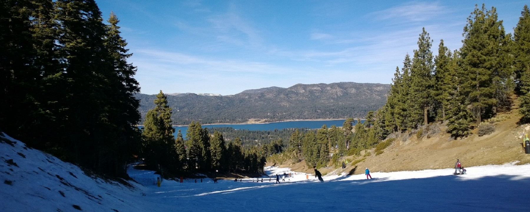 big bear snowboarding weekend